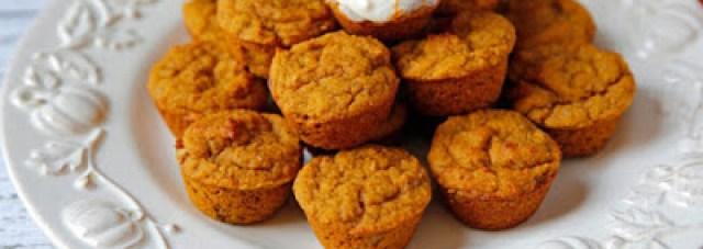 Almond Flour Pumpkin Spice Muffins