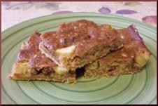 Apple Crunch Bars recipe (92 calories)