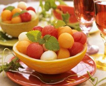Rum Melon Balls recipe (131 calories)