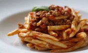 Homemade Pasta with Meat Sauce (Scillatelle Al Ragù) - CALABRIA