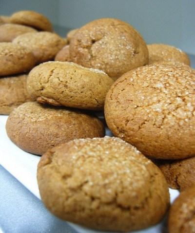 Soft Ginger Cookies (137 calories) recipe