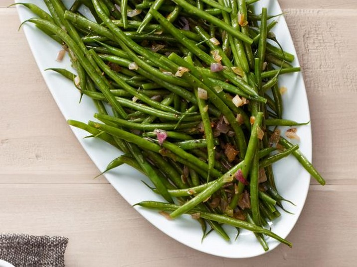 String Beans with Shallots Recipe