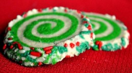 Colorful Slice and Bake Swirl Cookies recipe