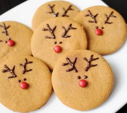 Easy Reindeer Cookies recipe
