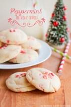 Peppermint Cheesecake Cookies recipe