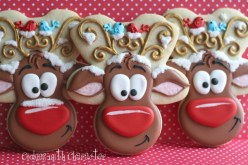 Whimsical Reindeer Cookies recipe