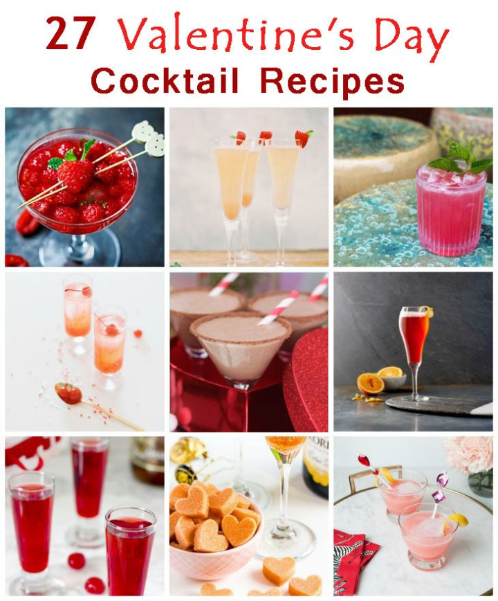 27 Valentine's Day Cocktail Recipes