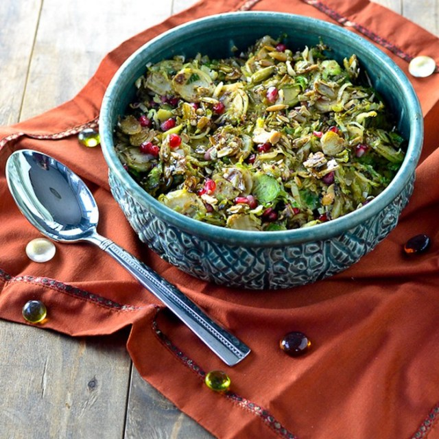 mustard-maple-brussels-sprouts-with-candied-pepitas-and-pomegranate-seeds-recipe-from-carascravings