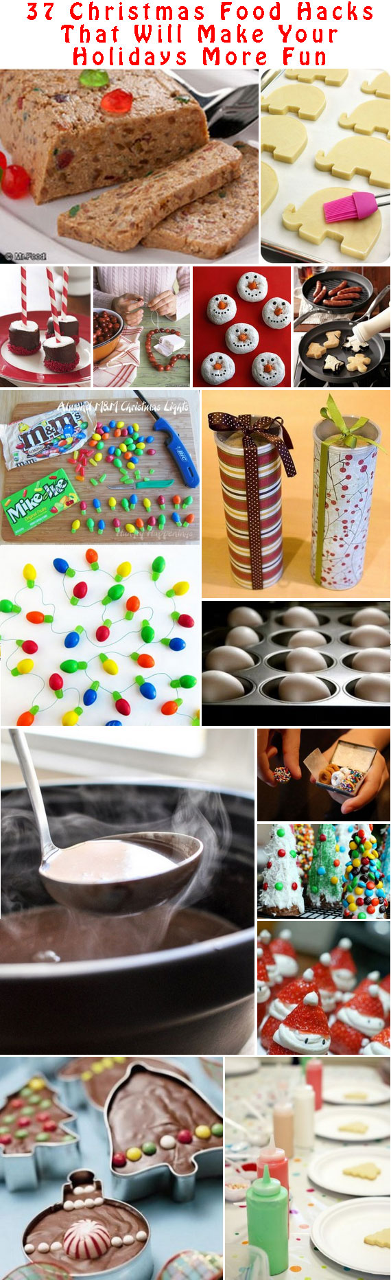 37 Christmas Food Hacks That Will Make Your Holidays More Fun