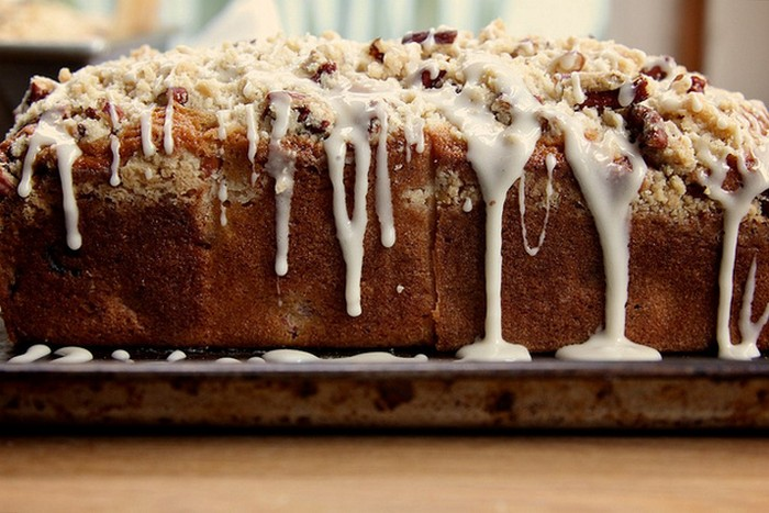 Cranberry-Orange And Pecan Coffee Cake