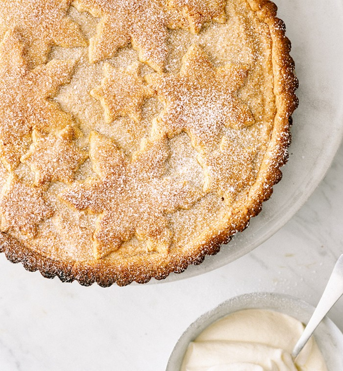 Fyrstekake (Cardamom Almond Tart)