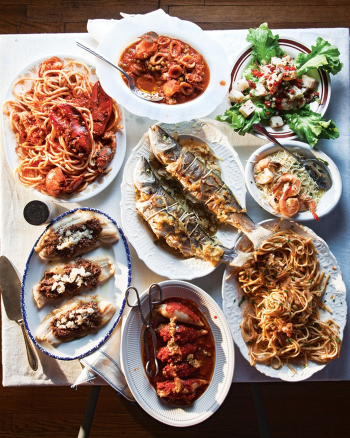 Italy - Feast of Seven Fishes Recipe