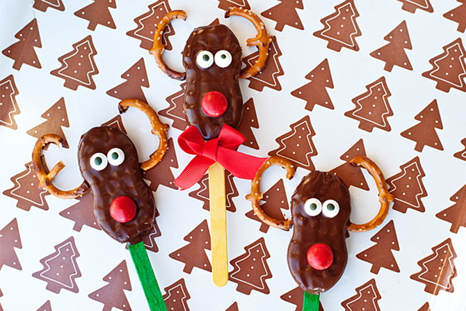 Nutter Butter Rudolph Cookies Recipe