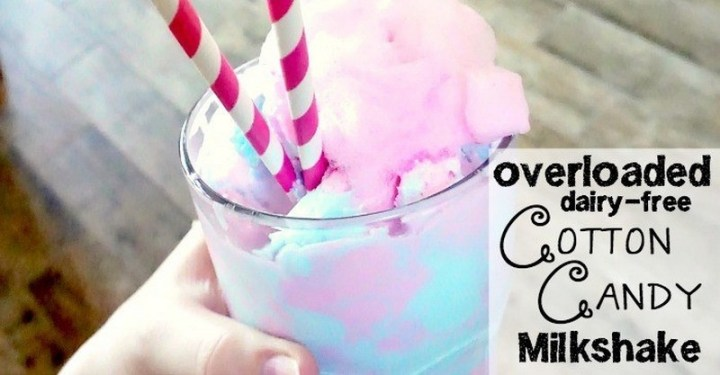 Cotton Candy Milkshake Recipe