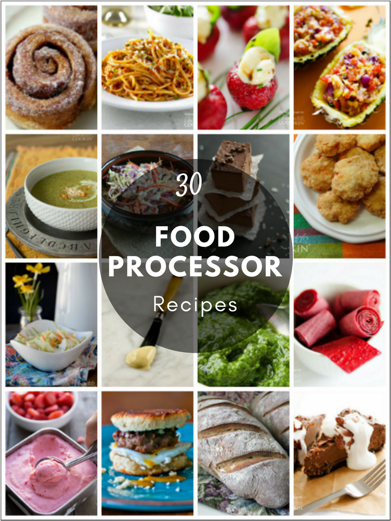 29 Food Processor Recipes