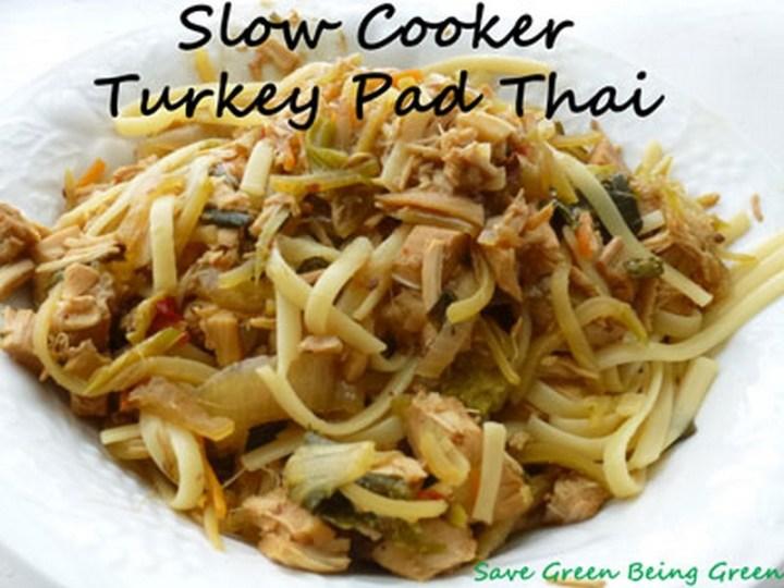 Slow Cooker Turkey Pad Thai Recipe