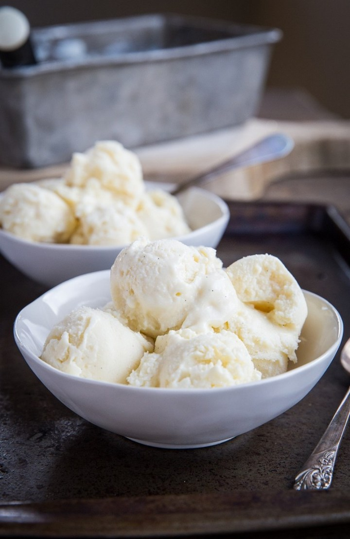 Vanilla Keto Ice Cream recipe