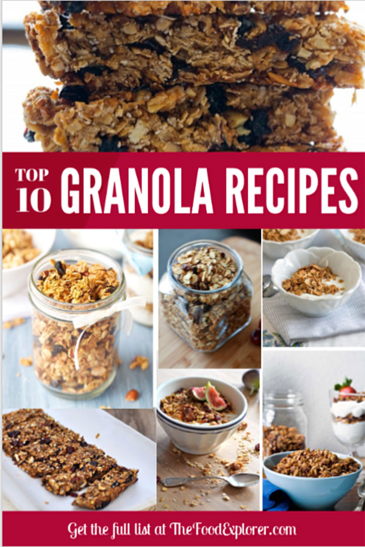Top 10 Delicious Homemade Granola Recipe Ideas