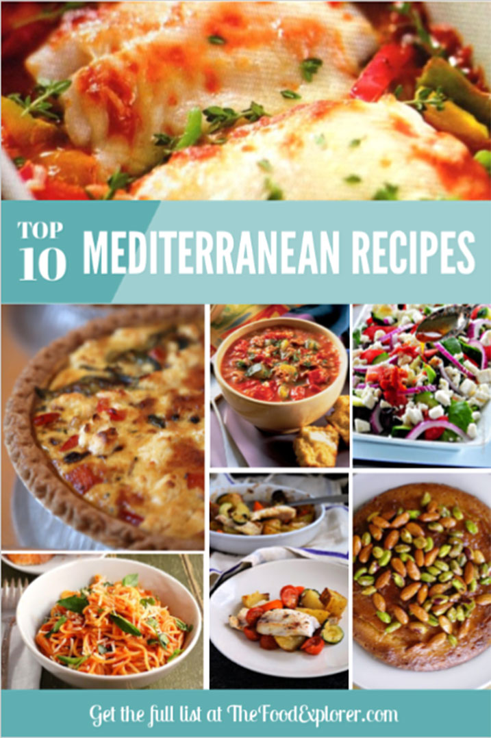 Top 10 Healthy and Tasty Mediterranean Recipe Ideas