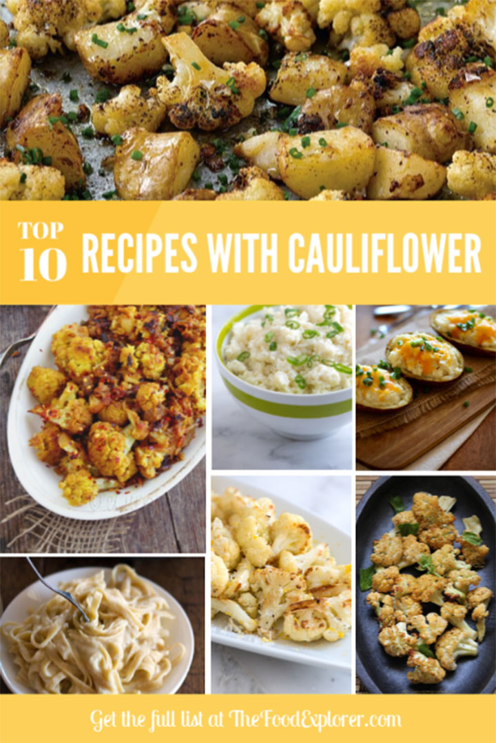 Top 10 Delicious Recipes with Cauliflower