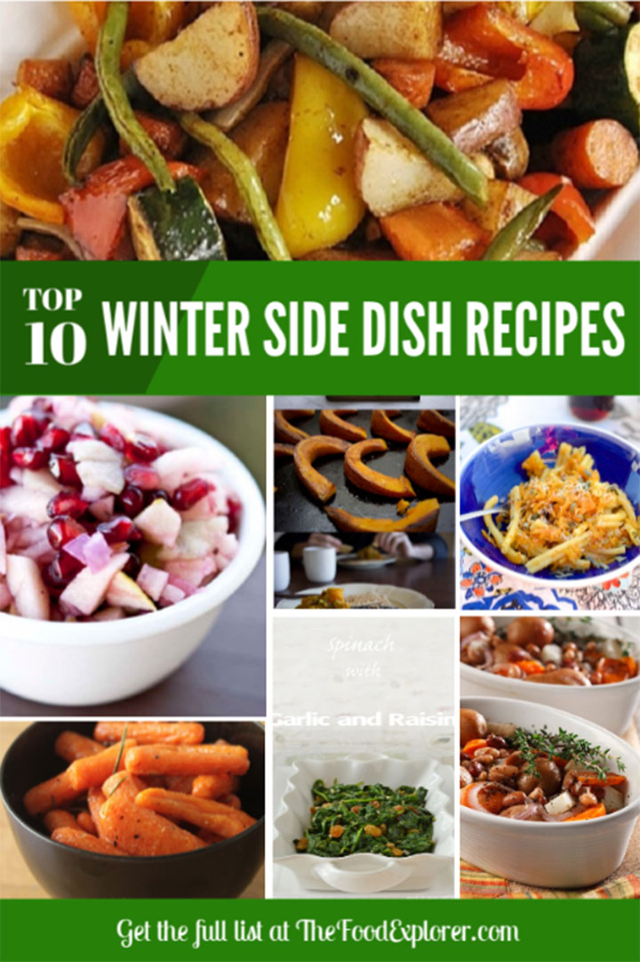 Top 10 Winter Side Dish Recipe Ideas