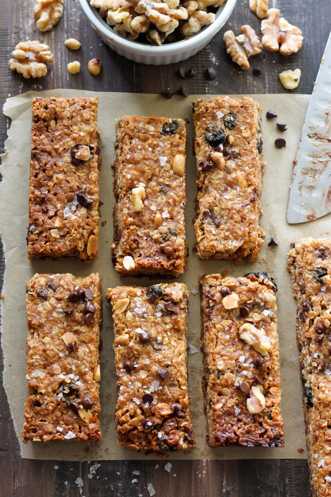 http://bakerbynature.com/sweet-and-salty-chocolate-peanut-butter-granola-bars/