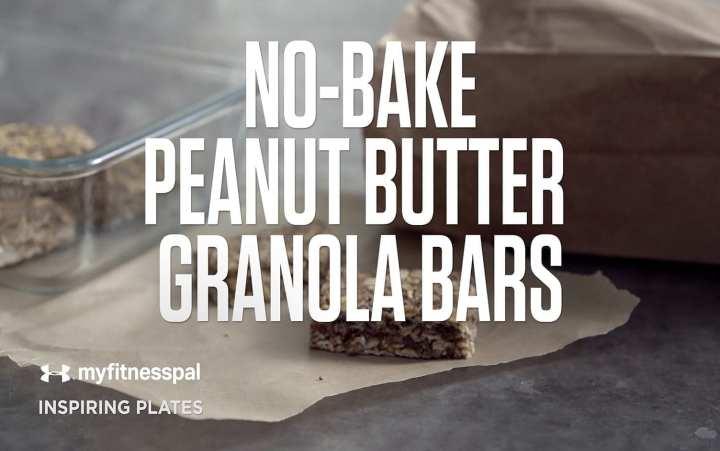 http://blog.myfitnesspal.com/no-bake-peanut-butter-granola-bars/