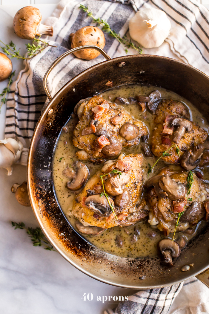 http://40aprons.com/creamy-whole30-bacon-mushroom-chicken-thighs-paleo/