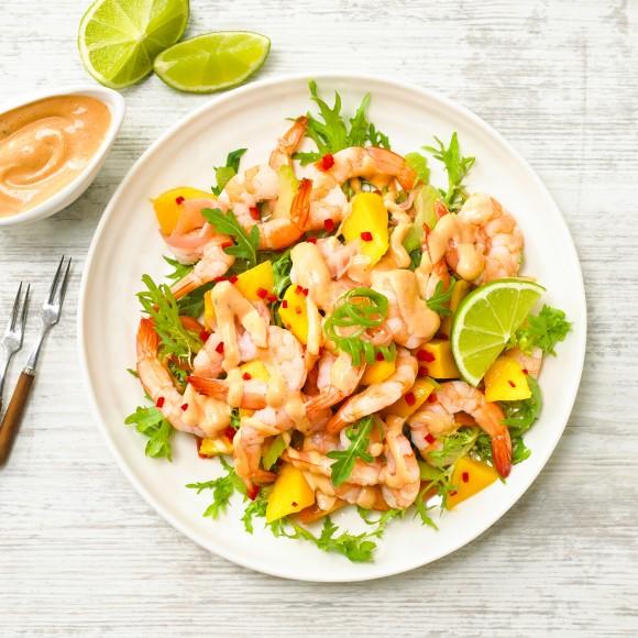 Fiery Prawn Cocktail Salad Recipe