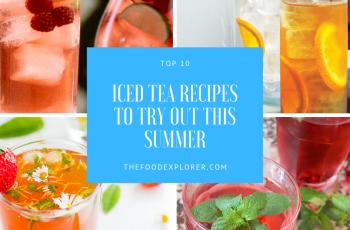 Top 10 iced tea recipes
