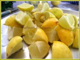 Sweet Lemon Pickle Nimbu Ka Khatta Mitha Achar The Food Funda