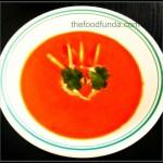 carot coconut soup
