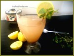 Amla lemon ginger squash
