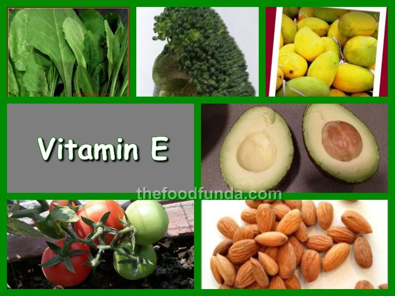 Vitamin E rich foods and recipes| benefits of Vitamin E