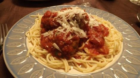 Spaghetti and Plantballs