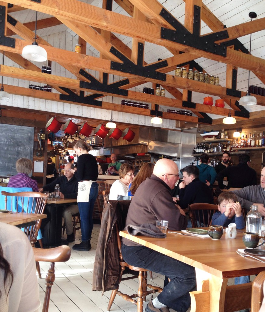 A view of the Mallard Cottage Dining Room