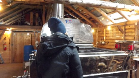 Me in the Sugar Camp