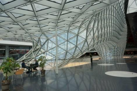 inside the mall.Frankfurt