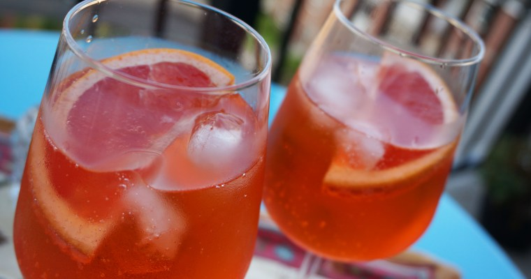 Cocktail History: Blood Orange Aperol Spritz
