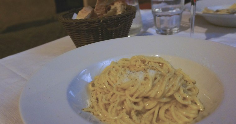 Rome for breakfast, lunch and dinner