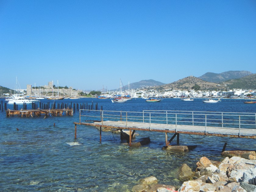 The beach town of Bodrum.