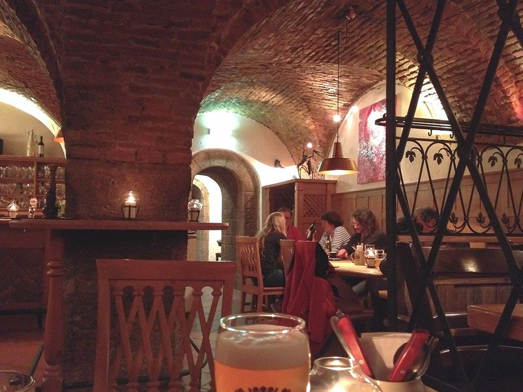 Dinner at Johanneskeller