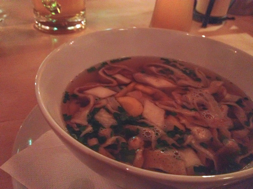 Salzburg Pancake Soup