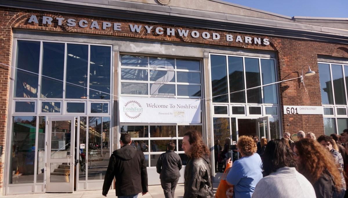 NoshFest Front of Artscape Wynchwood Barns