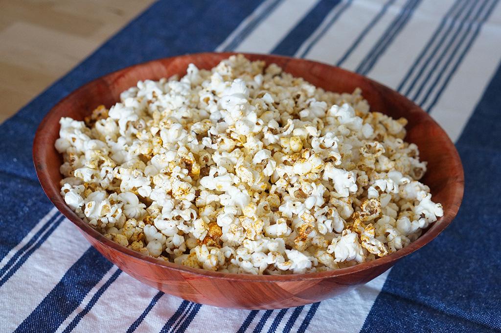 Bowl of Ethiopian popcorn