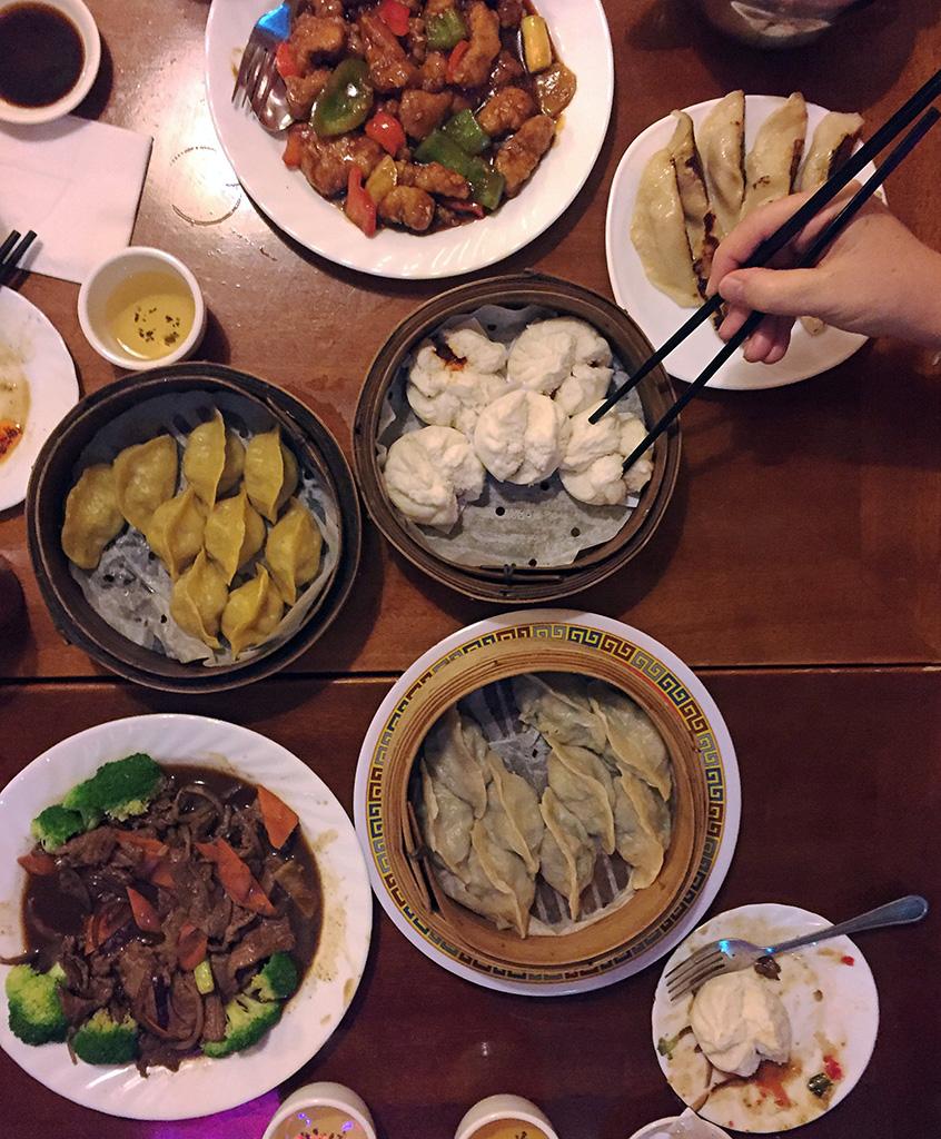 Overhead Shot of Mother's Dumpling