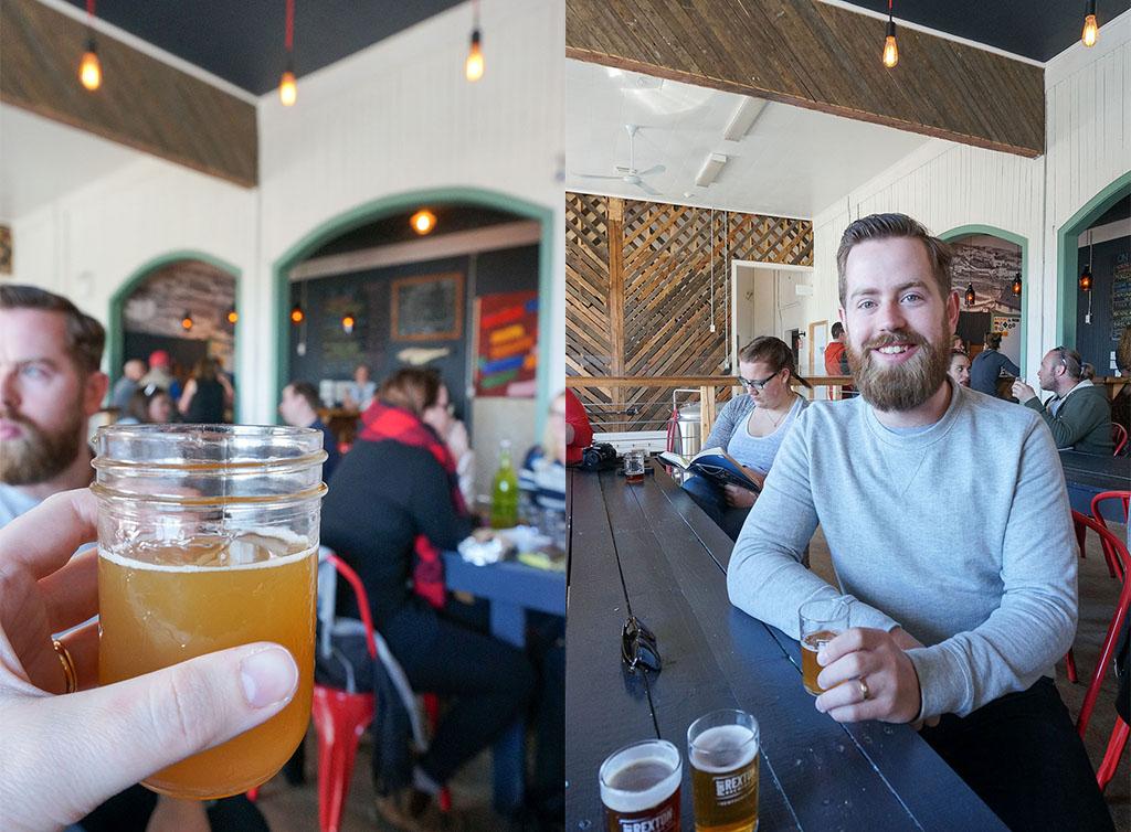 Port Rexton Brewery Collage