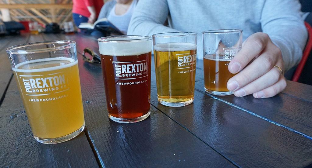 Day Trip to Port Rexton Brewing, Newfoundland