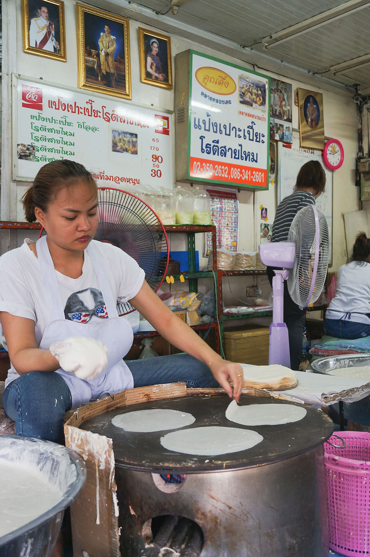 Rice Paper Klong Toey Slum Bangkok