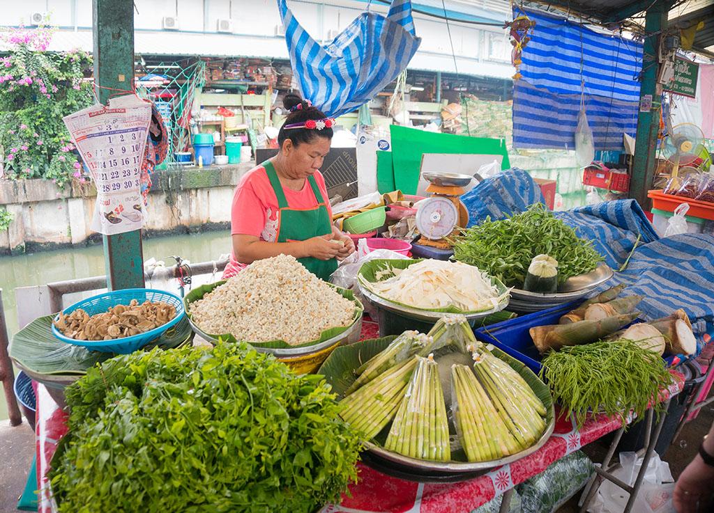 Lemongrass Klong Toey Slum Bangkok